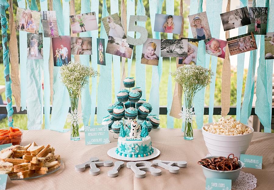 kiras frozen birthday party