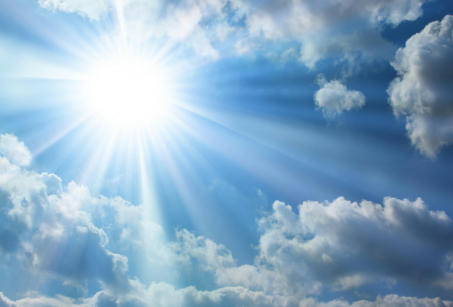 the-bright-sun-blue-sky-clouds-post